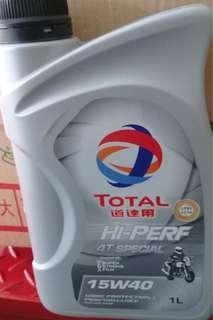 TOTAL 道達爾 4T SPECIAL HI-PERF 15W40 高品質四行程機油 1L