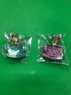 迪士尼襟章 Disney Tea Cup Pin - 優獸大都會款