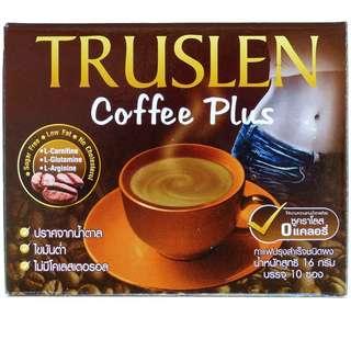 飲完會返轉頭飲系列😆😆 🇹🇭泰國TRUSLEN☕原味瘦身咖啡🤸🤸(一盒10小包)
