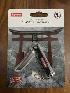 Supreme Statgear pocket samurai black