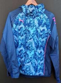 Vintage Puma Windbreaker Hood Jacket