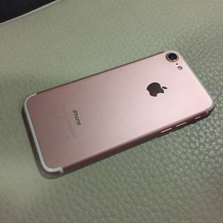 Very New Rose gold 128GB iPhone 7