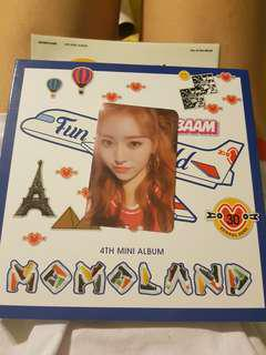 🚚 WTB MOMOLAND 4TH MINI ALBUM FUN TO THE WORLD (BAAM) PHOTOCARD