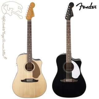 [免運費可分期]Fender Sonoran SCE 可插電單板民謠吉他 附贈琴袋