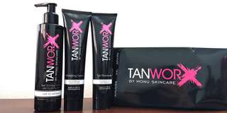 Full-sized TANWORX Self Tan Kit