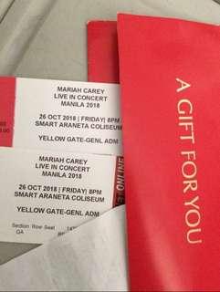Mariah Carey ticket