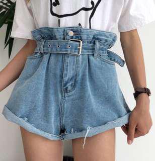 🚚 原價598❤️花苞牛仔短褲