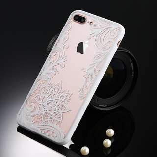 iPhone 7 White Lace