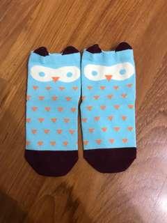 Korean owl Socks