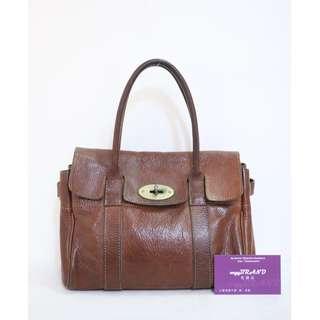 60% New MULBERRY 啡色 牛皮 小號 Brown Leather Handbag