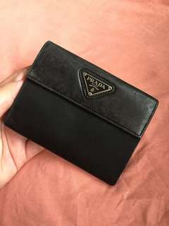 AUTHENTIC Prada Beauty Wallet Nero