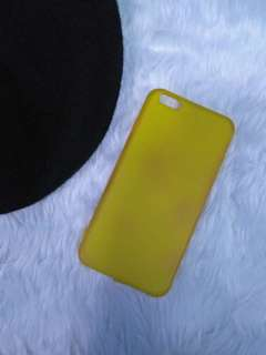 Iphone 6 plus Yellow Preloved Case