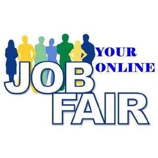 CALLING ALL FOR AN Open Positions -ONLINE JOB FAIR