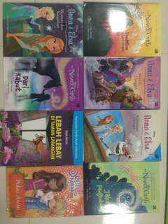never girls and elsa books