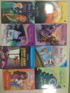 never girls and elsa books