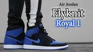 Jordan 1 Royal Flyknit