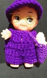 Purple Ice cream Boy Doll