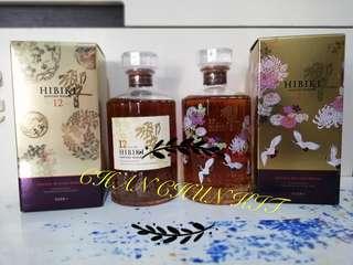 日本威士忌 響17 (花鳥), 響12 (花鳥)