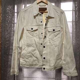 REPRICED! Levi's Men's Off-White Denim Jacket