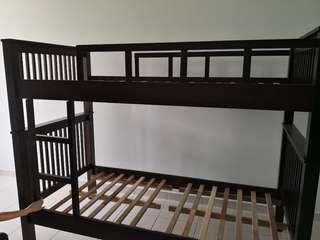 Double Wooden Bedstead