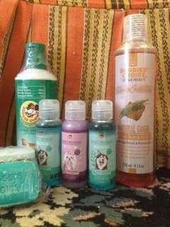 Shampoo & Dog Soap