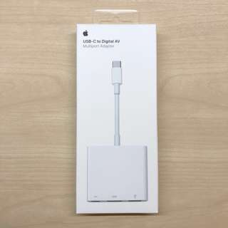 Apple USB-C to Digital AV (HDMI) and USB-C to VGA multiport adapter