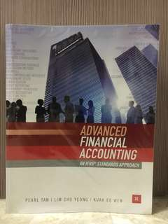 Advanced Financial Accounting - An IFRS Standards Approach