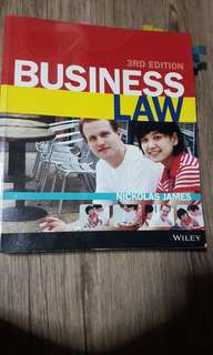 RMIT Commercial Law Textbook and Cheatsheets