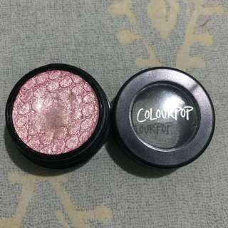 Colourpop eyeshadow: Just for fun