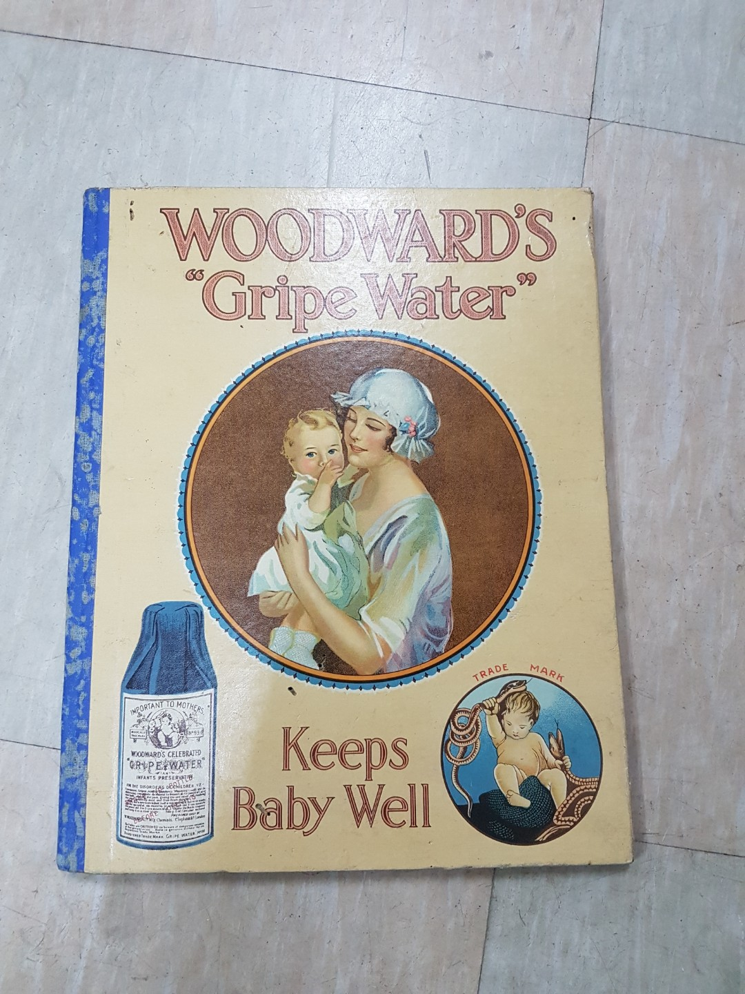 0328 1940 To 1943 Hardcover Woodwards Gripe Water Calendar Vintage Collectibles On Carousell