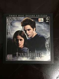 Twilight/New Moon/Eclipse Deluxe Edition DVDs