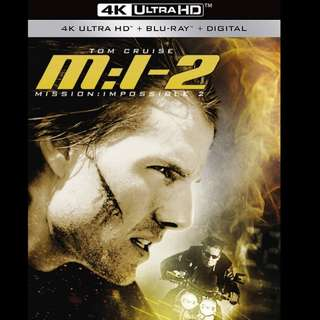 [Rent-A-4K-Movie] MISSION IMPOSSIBLE II (2000)