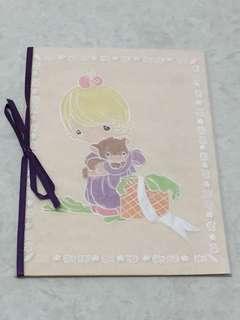 Handmade card Precious Moment