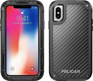 Pelican Shield for IPhone X. Dupont Kevlar® Case Construction. 3x Military Grade Drop Protection. Lifetime Guarantee. Toughest Case tested in the Market. Model No. is C37140. $5 discount for SAF servicemen. Free Delivery.