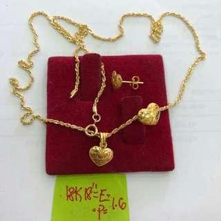SET SAUDI GOLD 18K