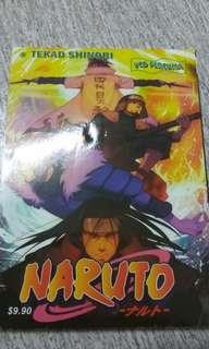 Naruto (Tekad Shinobi) + Vcd oleh Masashi Kishimoto