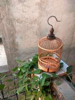 miniatur kandang burung