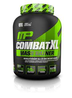 🚚 🔥 MusclePharm Combat XL Mass Gainer Protein 6lbs