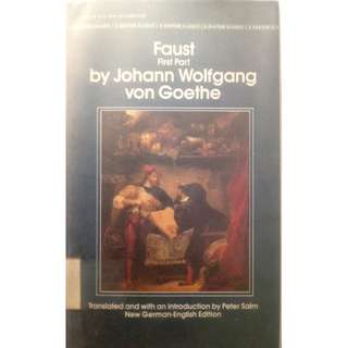 FAUST (PART 1) BY JOHANN WOLFGANG VON GOETHE