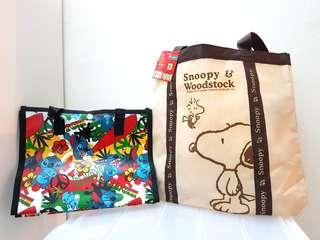 Snoopy Peanuts & Stitch Multipurpose Bag