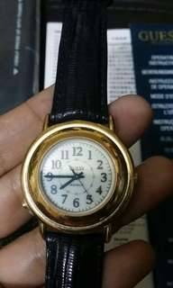 GUESS watch..complite box and card batrey operated