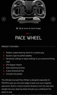 PS4 Pace Wheel Venom