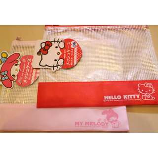 Kitty & Melody 夾鏈袋 (B6) 2個