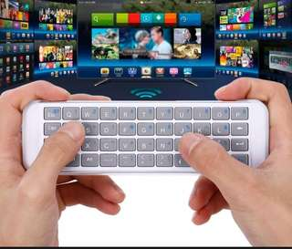 iPazzPort Mini Wireless Bluetooth Handheld Keyboard for Phone Fire TV Stick