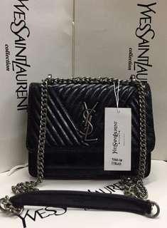 YSL Patent Bag