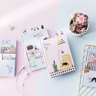 Pop Up Kitty 365 Planner