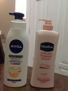 Repriced - Body lotion nivea vaseline