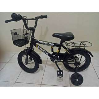 Rincon Kiddie Bike Toddler Bicycle With Training Wheels And Basket BRAND NEW!
