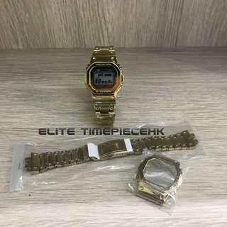 全新現貨 Casio G SHOCK 35th週年 GMW-B5000TFG 日本原裝配件 錶帶錶殼一套 (價錢不包括手錶)