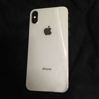 Iphone x 64gb silver 98new good condition under warranty